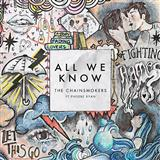 The Chainsmokers All We Know Sheet Music and Printable PDF Score | SKU 175258