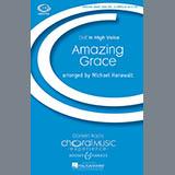 Michael Hanawalt Amazing Grace Sheet Music and Printable PDF Score   SKU 72520