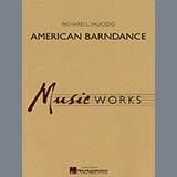Richard L. Saucedo American Barndance - Percussion 1 Sheet Music and Printable PDF Score | SKU 278623