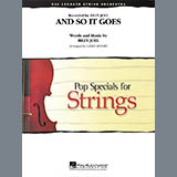 Larry Moore And So It Goes - Cello Sheet Music and Printable PDF Score   SKU 368451