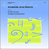 Brom Andante And March - Piano Sheet Music and Printable PDF Score   SKU 336860
