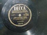 Al Jolson Anniversary Song Sheet Music and Printable PDF Score | SKU 16323