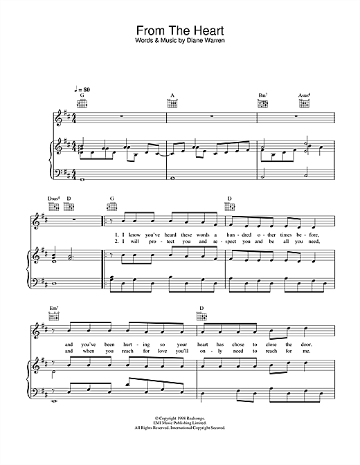 Another Level From The Heart sheet music notes and chords. Download Printable PDF.
