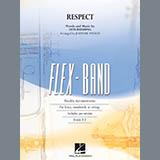 Aretha Franklin Respect (arr. Johnnie Vinson) - Conductor Score (Full Score) Sheet Music and Printable PDF Score | SKU 408759