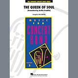Aretha Franklin The Queen Of Soul (arr. Paul Murtha)- Conductor Score (Full Score) - Timpani Sheet Music and Printable PDF Score | SKU 408758