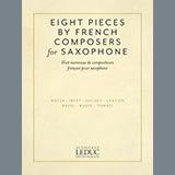 Jacques Ibert Aria Sheet Music and Printable PDF Score | SKU 442650