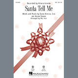Ariana Grande Santa Tell Me (Arr. Mac Huff) - Guitar Sheet Music and Printable PDF Score | SKU 342600