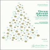 Arthur Frackenpohl Three Advent Carols - Full Score Sheet Music and Printable PDF Score | SKU 339337