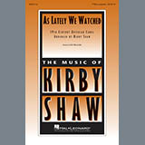 Kirby Shaw As Lately We Watched Sheet Music and Printable PDF Score | SKU 414501
