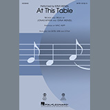 Idina Menzel At This Table (arr. Mac Huff) Sheet Music and Printable PDF Score   SKU 450847