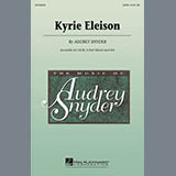 Download or print Audrey Snyder Kyrie Eleison Digital Sheet Music Notes and Chords - Printable PDF Score