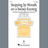 Download or print Audrey Snyder Stopping By Woods On A Snowy Evening Digital Sheet Music Notes and Chords - Printable PDF Score