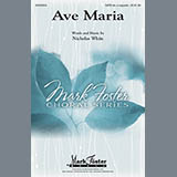 Nicholas White Ave Maria Sheet Music and Printable PDF Score | SKU 89143