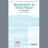 J. Daniel Smith Awesome In This Place (with Worthy) - Violin 2 Sheet Music and Printable PDF Score   SKU 295378