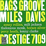 Miles Davis Bags' Groove (Take 2) Sheet Music and Printable PDF Score   SKU 419153
