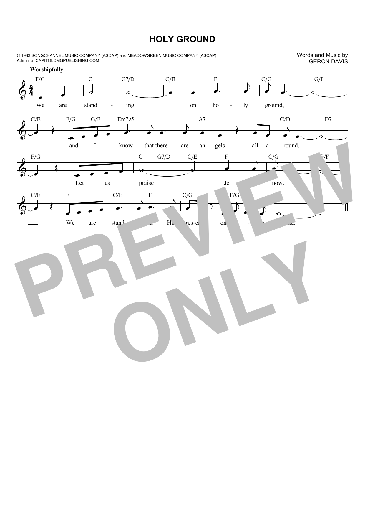Barbra Streisand Holy Ground sheet music notes and chords. Download Printable PDF.