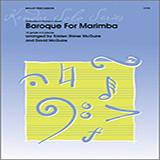 Kristen Shiner McGuire & David McGuire Baroque For Marimba Sheet Music and Printable PDF Score   SKU 125046