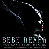 Bebe Rexha You Can't Stop The Girl (from Disney's Maleficent: Mistress of Evil) Sheet Music and Printable PDF Score | SKU 424578