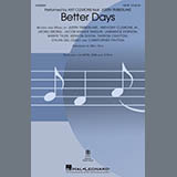 Ant Clemons feat. Justin Timberlake Better Days (arr. Mac Huff) Sheet Music and Printable PDF Score | SKU 493371