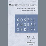 Billy Payne Mary Delivered The Gospel - Drum Set Sheet Music and Printable PDF Score | SKU 270614