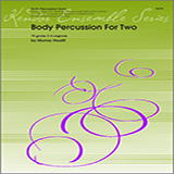 Houllif Body Percussion For Two Sheet Music and Printable PDF Score   SKU 124763