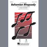 Queen Bohemian Rhapsody (arr. Mark Brymer) - Guitar Sheet Music and Printable PDF Score | SKU 357186