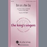 John David & Philip Lawson Born On A New Day (arr. Peter Knight) Sheet Music and Printable PDF Score   SKU 410465
