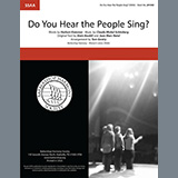 Boublil & Schonberg Do You Hear The People Sing? (from Les Miserables) (arr. Tom Gentry) Sheet Music and Printable PDF Score | SKU 407072