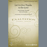 Brad Nix Let Us Give Thanks To The Lord Sheet Music and Printable PDF Score | SKU 157150