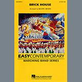 Michael Brown Brick House - Quad Toms Sheet Music and Printable PDF Score | SKU 281069