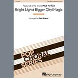 Deke Sharon Bright Lights Bigger City/Magic Sheet Music and Printable PDF Score | SKU 98692