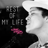 Bruno Mars The Rest Of My Life Sheet Music and Printable PDF Score | SKU 162548
