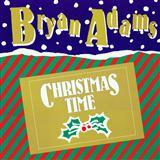 Download or print Bryan Adams Christmas Time Digital Sheet Music Notes and Chords - Printable PDF Score