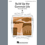 Will Schmid Build Up The Common Life Sheet Music and Printable PDF Score | SKU 98091