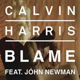 Calvin Harris Blame (feat. John Newman) Sheet Music and Printable PDF Score | SKU 119485