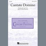 Patti Drennan Cantate Domino Sheet Music and Printable PDF Score | SKU 88114
