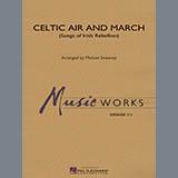 Michael Sweeney Celtic Air and March (Songs of Irish Rebellion) - Eb Baritone Saxophone Sheet Music and Printable PDF Score   SKU 328690