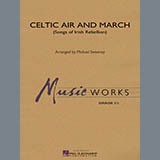 Michael Sweeney Celtic Air and March (Songs of Irish Rebellion) - Percussion 1 Sheet Music and Printable PDF Score   SKU 328697