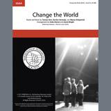 Eric Clapton Change The World (arr. Deke Sharon, David Wright) Sheet Music and Printable PDF Score   SKU 407043