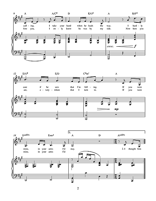 Charles Miller & Adam Bard If You Were Mine (from Theatrical Love) sheet music notes printable PDF score