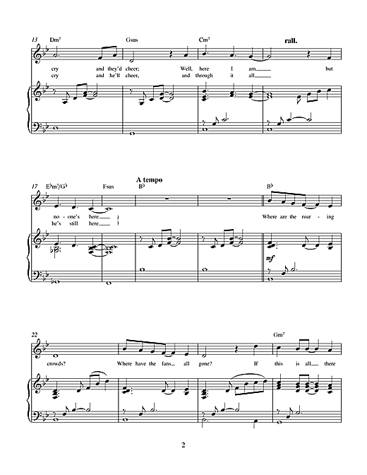 Charles Miller & Kevin Hammonds If This Is All There Is (from No One In The World) sheet music notes printable PDF score
