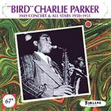 Charlie Parker Anthropology Sheet Music and Printable PDF Score | SKU 158657