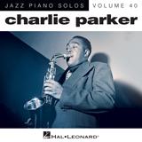 Charlie Parker April In Paris (arr. Brent Edstrom) Sheet Music and Printable PDF Score | SKU 164645