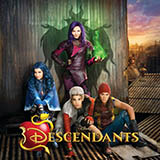China Anne McClain Night Is Young (from Disney's Descendants) Sheet Music and Printable PDF Score | SKU 162605