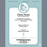 Robert Lowry Christ Arose (with And Can It Be?) (arr. David Schmidt) - Timpani Sheet Music and Printable PDF Score | SKU 410876