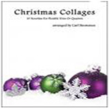 Carl Strommen Christmas Collages - Violin Sheet Music and Printable PDF Score | SKU 472697