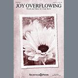 Cindy Berry Joy Overflowing Sheet Music and Printable PDF Score | SKU 157046