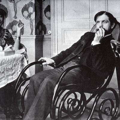Claude Debussy image and pictorial