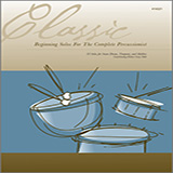 Various Classic Beginning Solos For The Complete Percussionist Sheet Music and Printable PDF Score   SKU 124921