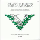 Schinstine Classic Duets For Marimba Sheet Music and Printable PDF Score   SKU 124900